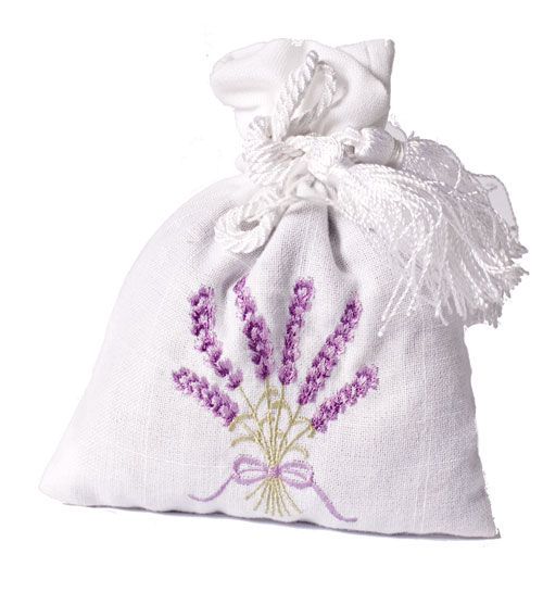 Lavender bag - Beaded or Embroidered